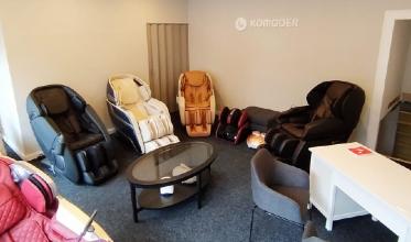 Komoder vende le poltrone massaggianti anche fuori dall'Italia