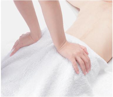 Massaggio dei muscoli piriformi