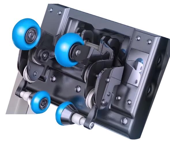 Sistema a rulli 3D Komoder KM400L