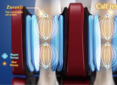 massaggio a pressione per i piedi alla poltrona Komoder KM500L