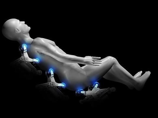 Poltrona da massaggio Komodor KM500