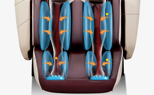Riscaldamento ai piedi per la poltrona da massaggio Komoder KM500L