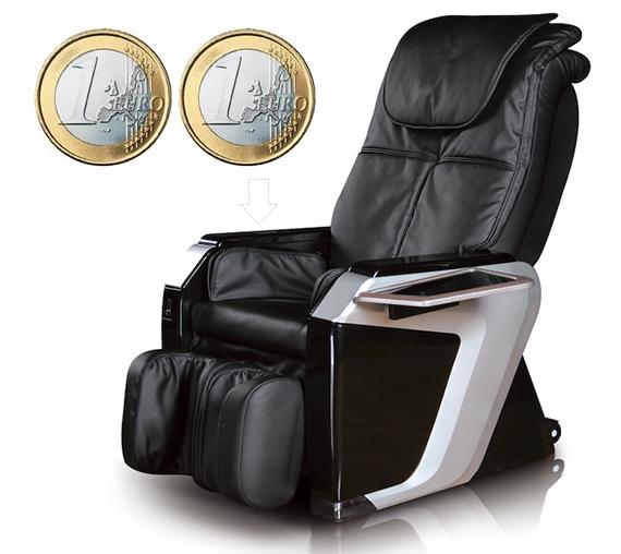 Poltrona massaggiante Komoder KM101-2 con gettoniera - Komoder