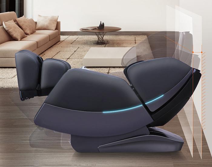 Spazio ridotto con la poltrona massaggiante Komoder Veleta