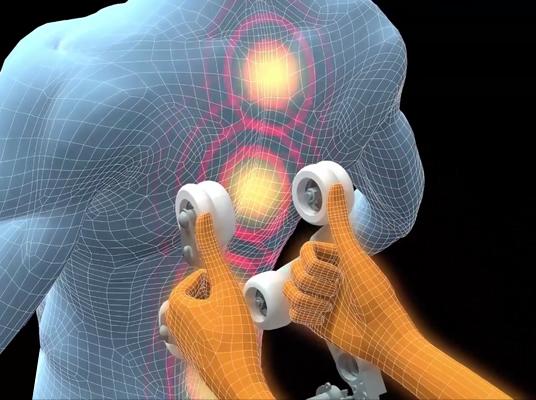 Riscaldamento alla schiena con la poltrona massaggiante Komoder Veleta