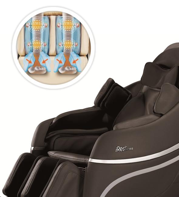 Poltrona massaggiante irest a33 zerogravity komoder for Poltrone automatiche