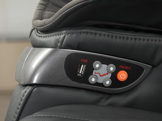 Accesso facile ai pulsanti di controllo