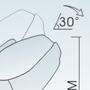 poltrona grigio Komoder A38