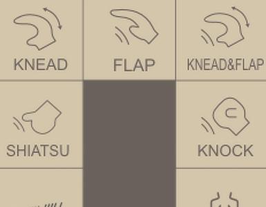 5 tipi di massaggio Komoder KM350S